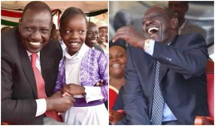 DP Ruto left in stitches after young girl claims he was right about Canaan unlike Raila