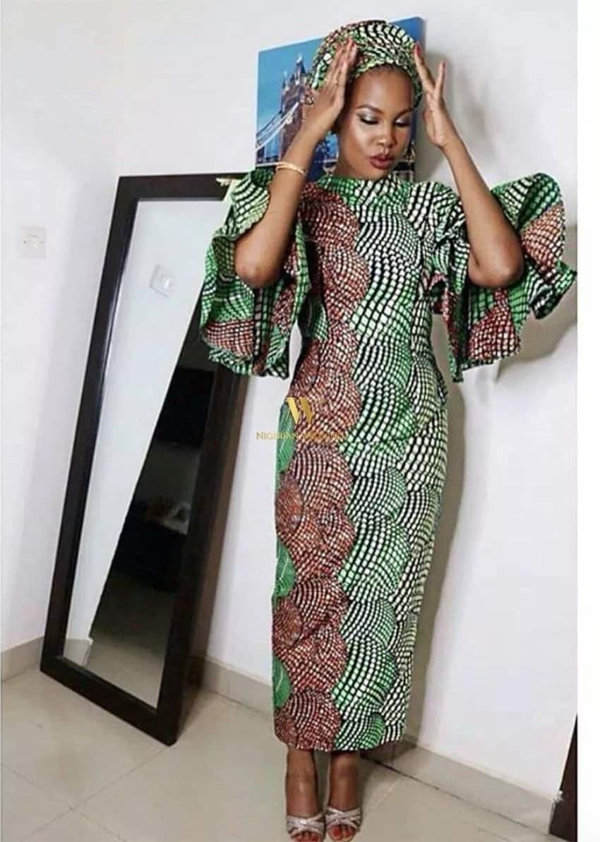 Latest kitenge dress designs 2018