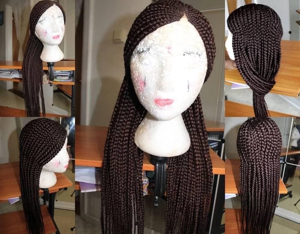 pencil lines braids