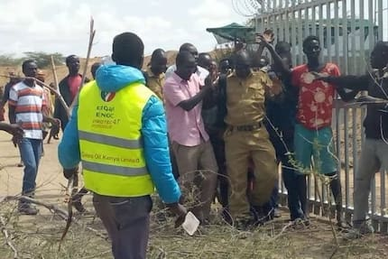 Forget about oil if insecurity situation is not solved - Turkana residents tell Uhuru