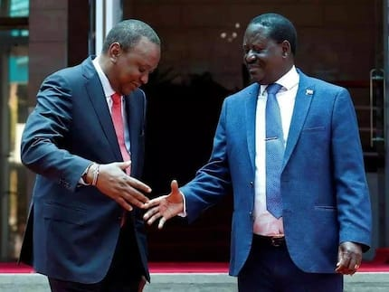 Uhuru and Raila to be honoured in British Parliament for the famous handshake