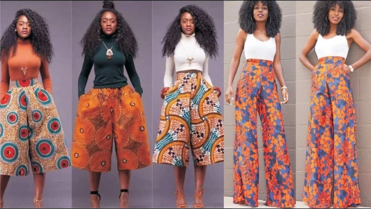 Ankara pants styles