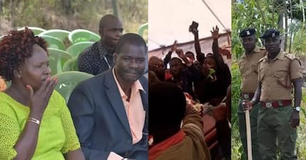 Burial of Migori governor's lover, Sharon Otieno, in pictures