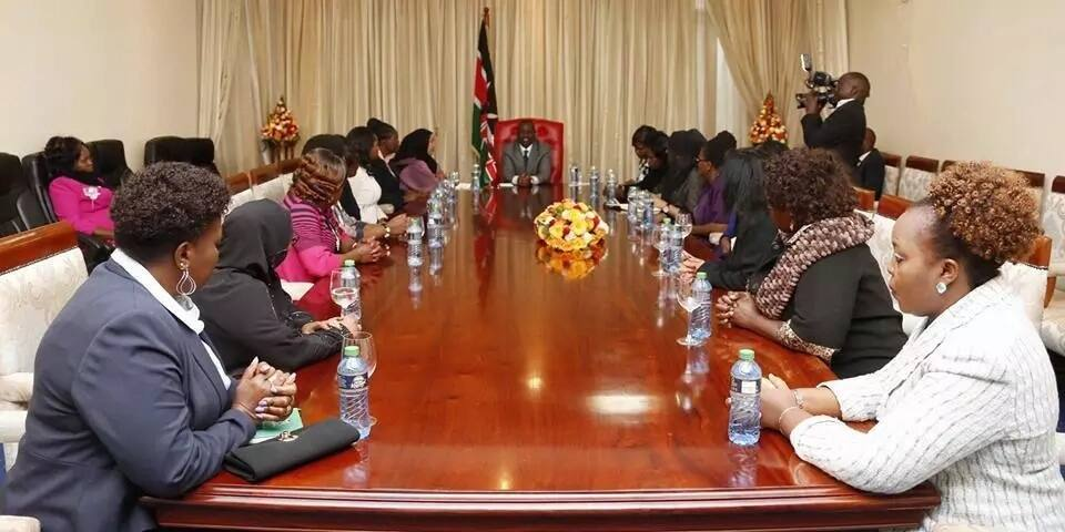 William Ruto holds closed-door meeting with female MPs