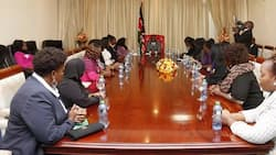 William Ruto holds consultative meetng with female leaders