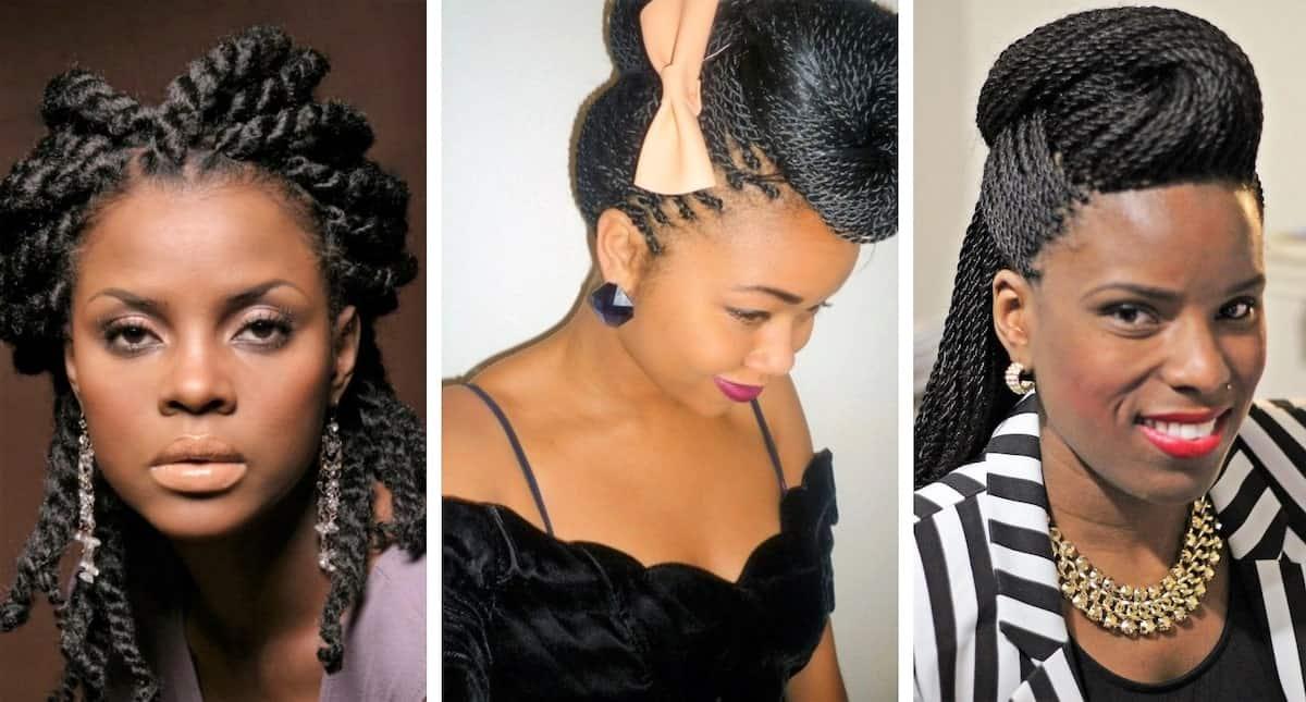 How to style twist braids