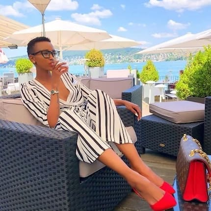 Huddah Monroe threatens to expose famous footballer ex-lover who sends her insults everyday