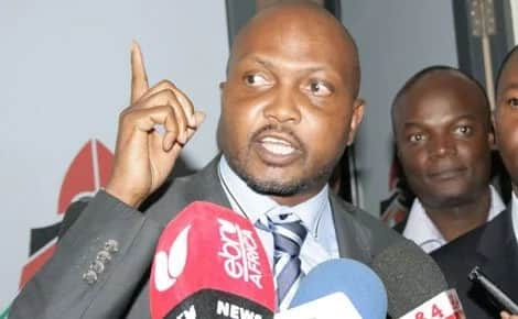 Raila to be tried,sentenced and hanged then buried in Langata -Moses kuria
