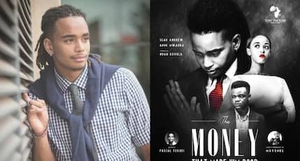 Kibaki's hot grandson Sean Andrews stars in Kenya's biggest theater show