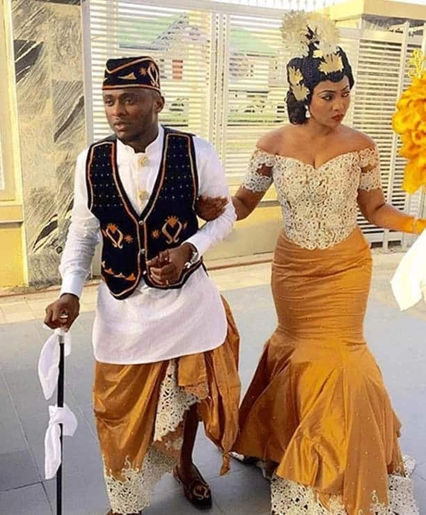 traditional African wear for couples
