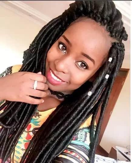Sonko's Daughter, Saumu Mbuvi Shows Love For Her Man In