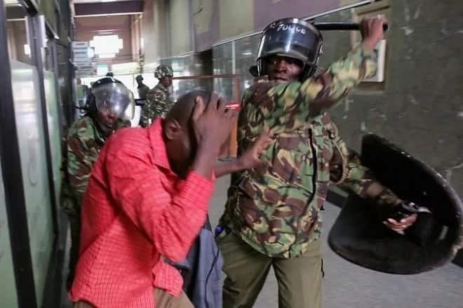 Kisii residents demand firing of Matiangi over police brutality against NASA supporters