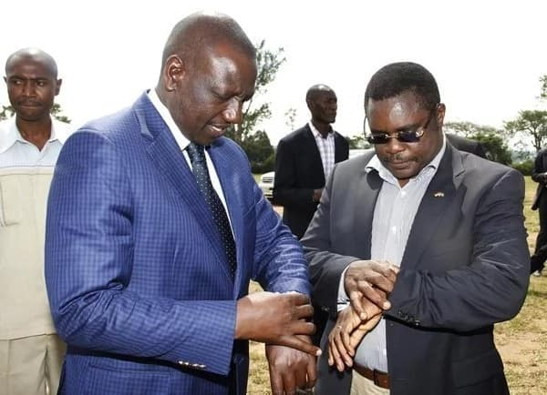 Top Jubilee governor goes hunting for votes on a motorbike (photo)