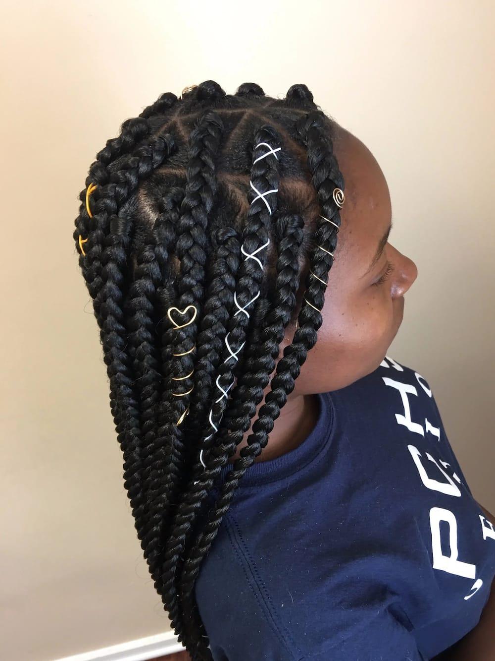 Latest Big Box Braids Hairstyles In 2019 Tuko Co Ke