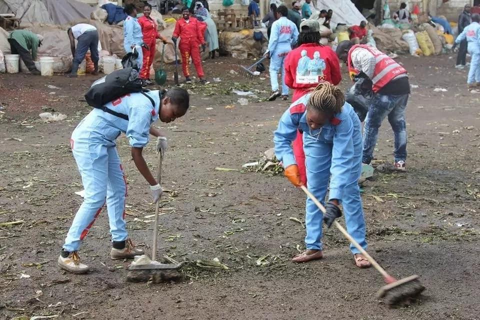 Picha 8 za Soko la Wakulima-Nairobi ambazo hutaamini
