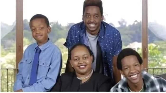 Meet the no nonsense Kirinyaga Governor Anne Waiguru with her adorable sons