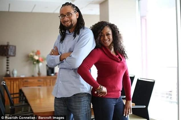 Carl and Kenya have been married for 22 years and have been polyamorous for 12. Photo: Barcroft Images