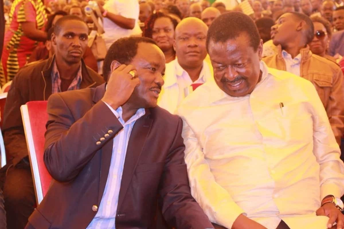 Huenda hii ikawa ishara kwamba Wetangula, Mudavadi na Kalonzo wanamkwepa Raila pole pole