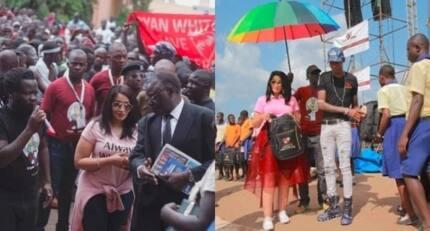Zari Hassan atua Kampala kwa mbwembwe, apokewa kama malkia