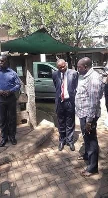 Police spokesperson Charles Owino bereaved