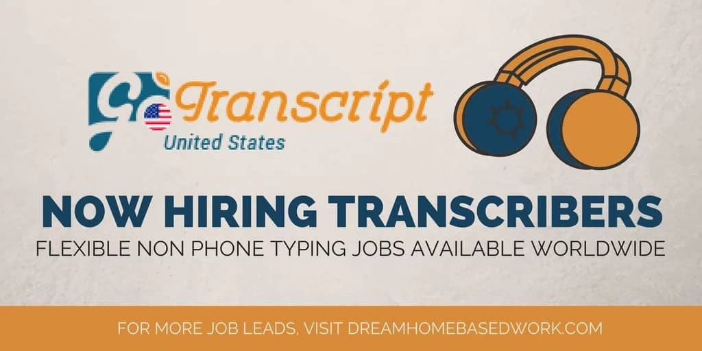 Go Transcript Jobs: test, guidelines and reviews
