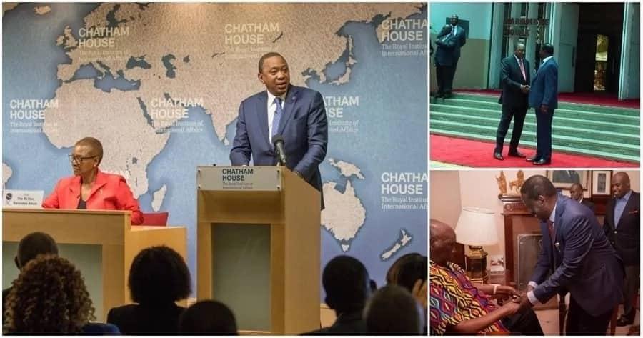 Makubaliano kati yangu na Raila sio kwa sababu ya 2022-Uhuru Kenyatta