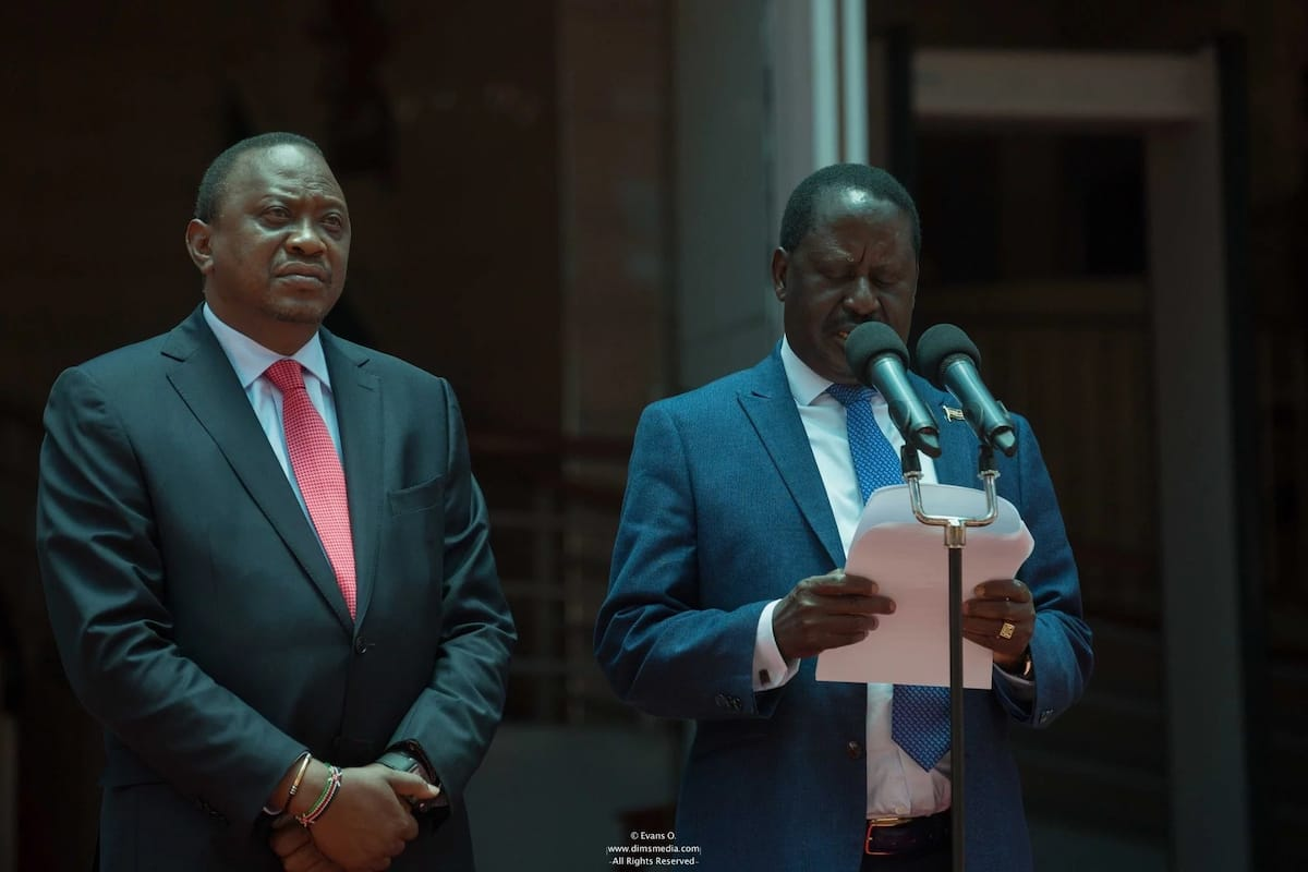 raila talks
