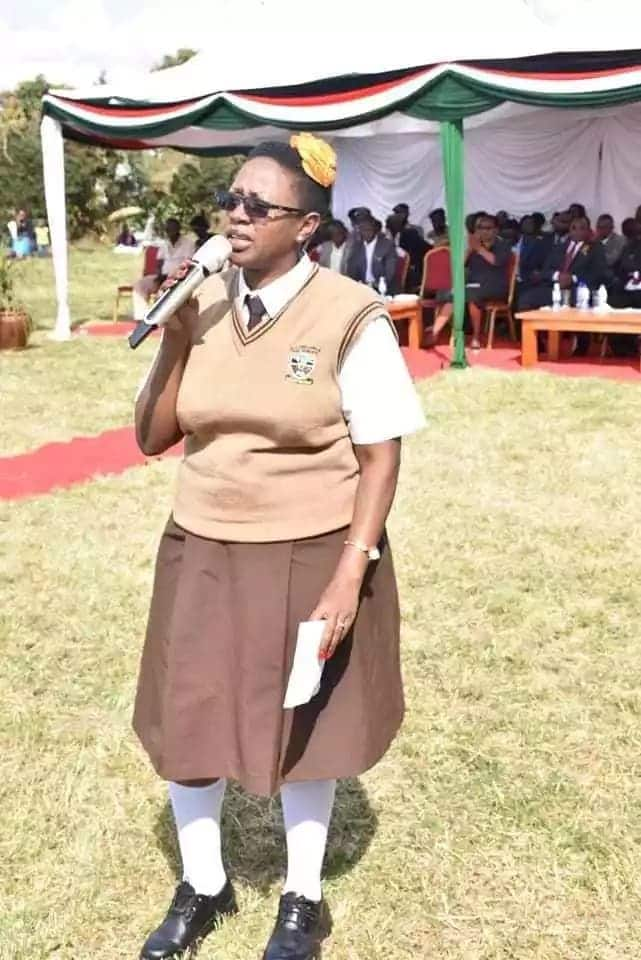 Murang'a Woman Rep Sabina Chege dazzles in school uniform