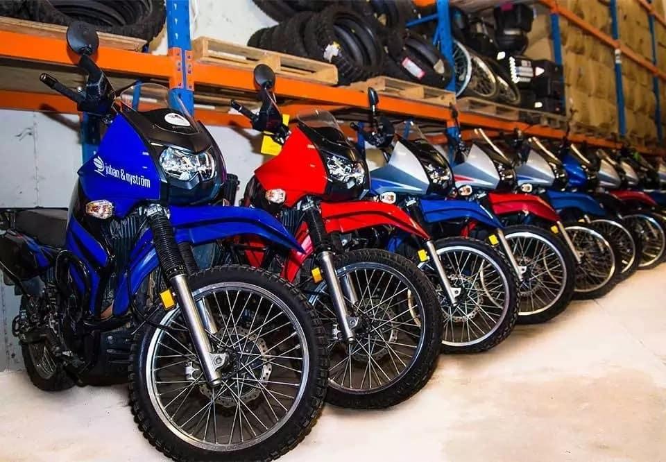 Motorbike dealers in Kenya