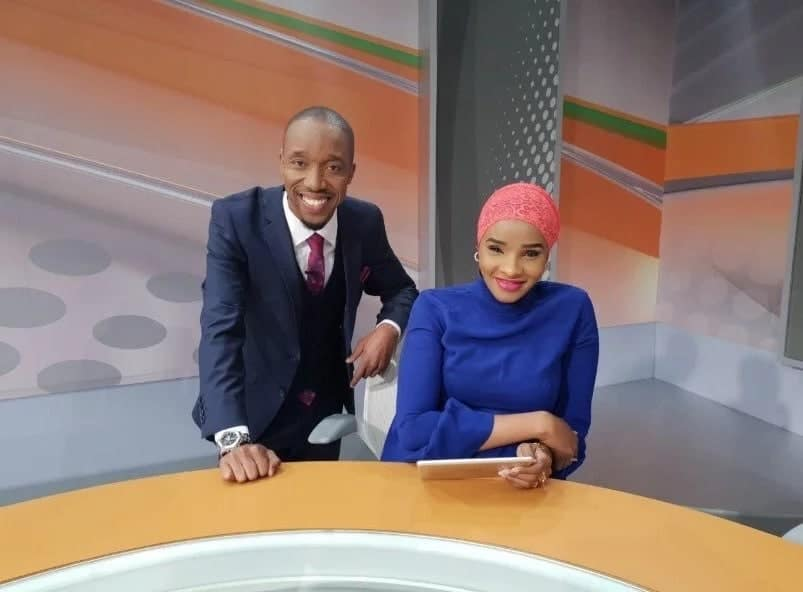 Kwa mara ya kwanza katika historia ya Kenya maharusi wasoma kwa pamoja habari za TV