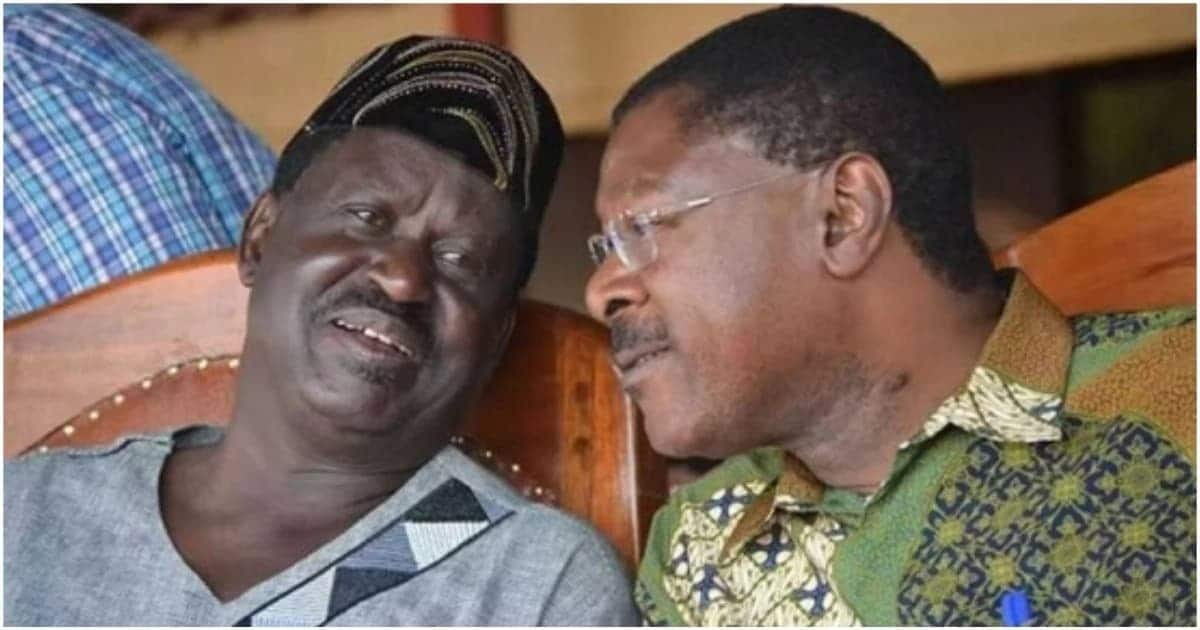 Raila's cousin accuses ODM of mistreating Moses Wetang'ula