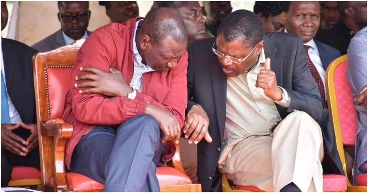 FORD Kenya leader Moses Wetang'ula declares he will support Ruto's 2022 presidential bid