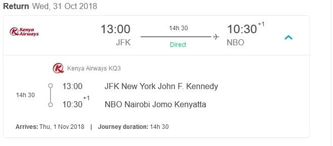 KQ fully booked one week ahead of maiden direct flight to New York