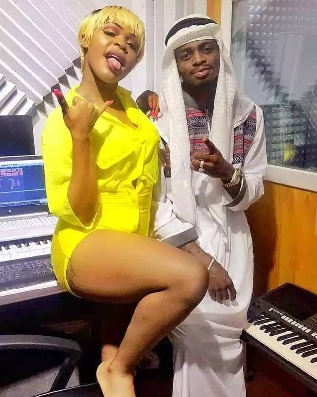 Tanzanian video vixen who ditched lover after giving birth claims her baby belongs to Diamond