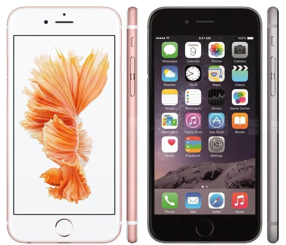 Source: Forbes iPhone 6S (left) vs iPhone 6 (right)