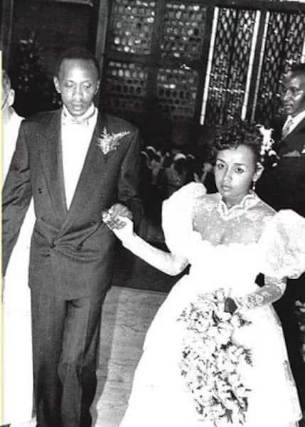 Uhuru Kenyatta Family Photos - From Wedding To Date Tuko.co.ke  Uhuru Kenyatta ...