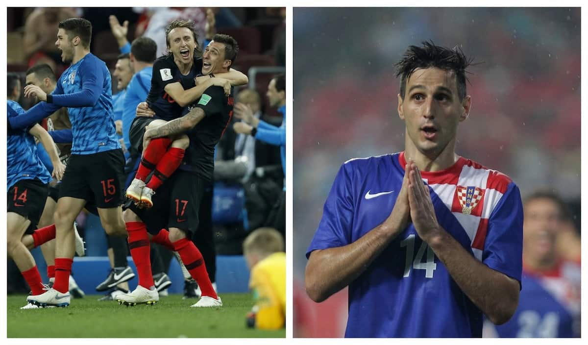 Croatia's Nikola Kalinic refuses World Cup runners-up medal after being axed from squad