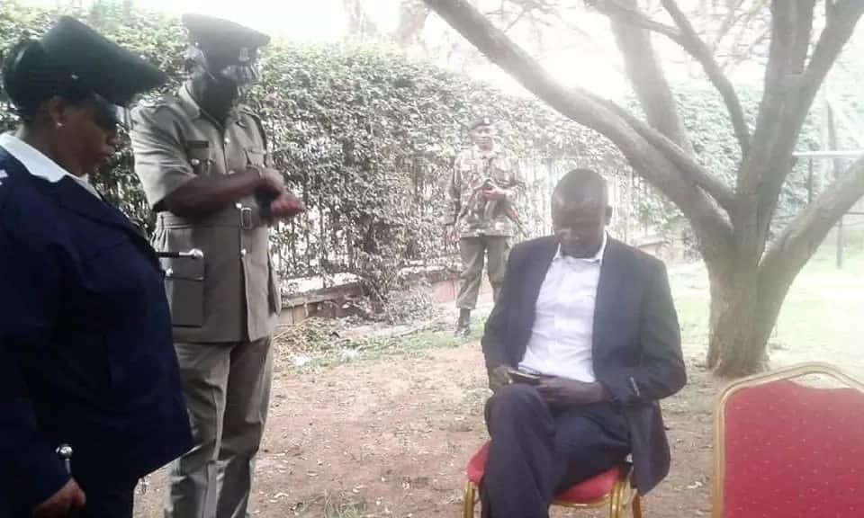 Mlinzi wa Moses Wetangula afutwa kazi kufuatia kizazaa katika Mahakama Kuu