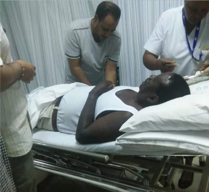 raila is too unhealthy to be president