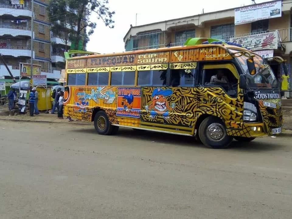 Inside the new hottest matatu in Nairobi city