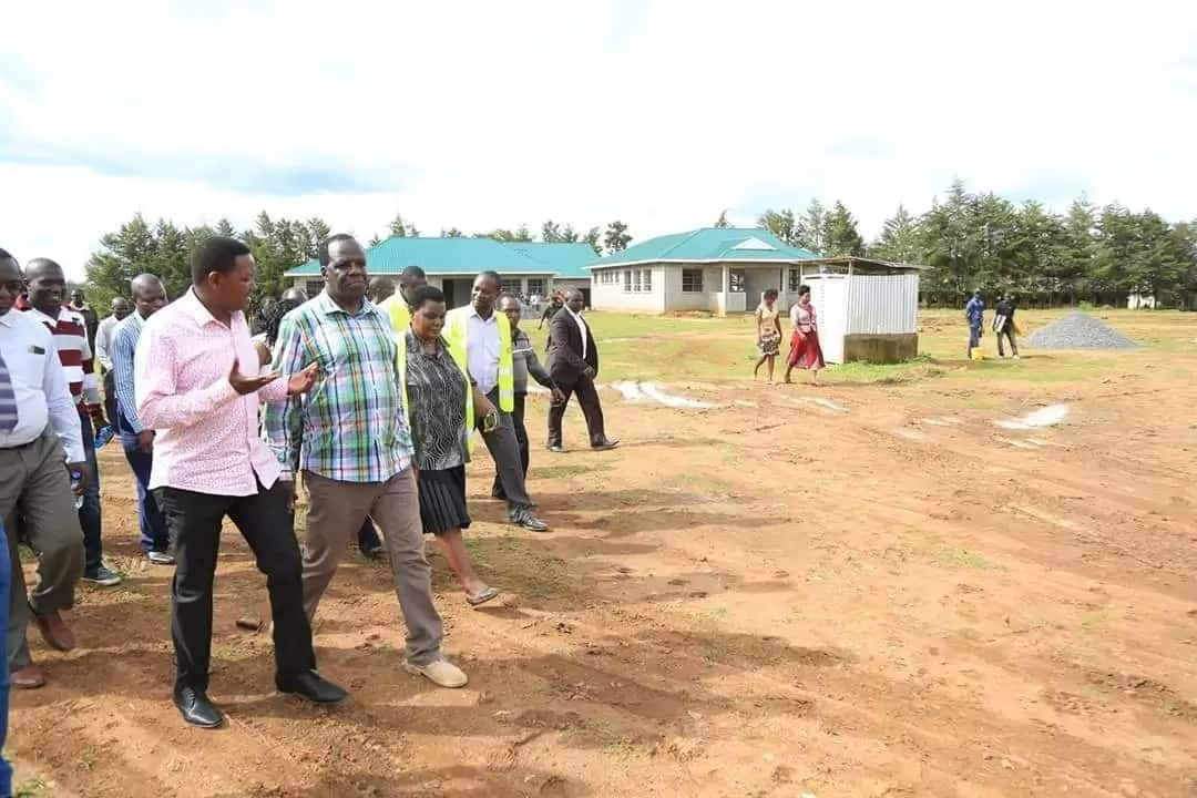 All the development projects in Kakamega county inspected by Alfred Mutua