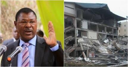 Demolishing buildings on wetlands is nonsensical - Moses Wetang'ula