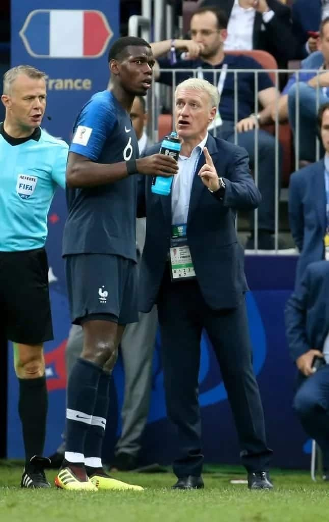 France coach Didier Deschamps jumps to Pogba's defense as Mourinho feud intensifies