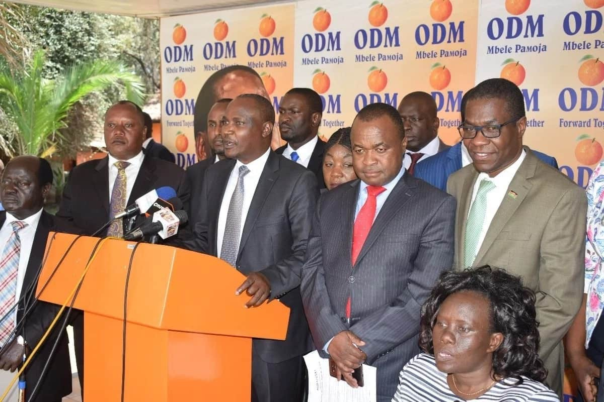 ODM statement supporting Uhuru's proposing 8% fuel levy doesn't represent NASA - Moses Wetang'ula