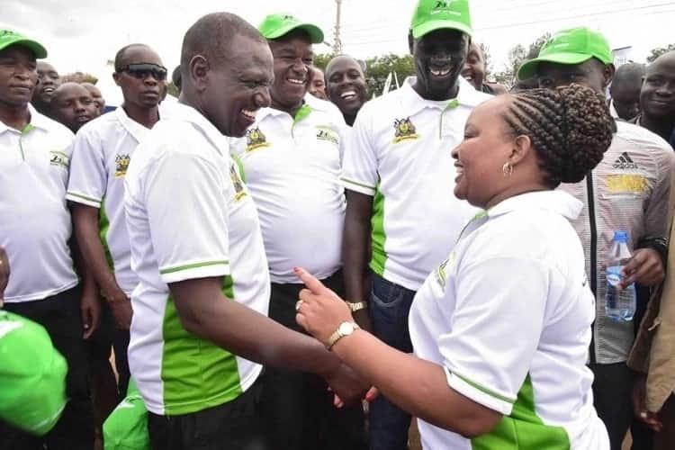 X eye-catching times William Ruto, Anne Waiguru have displayed their political chemistry