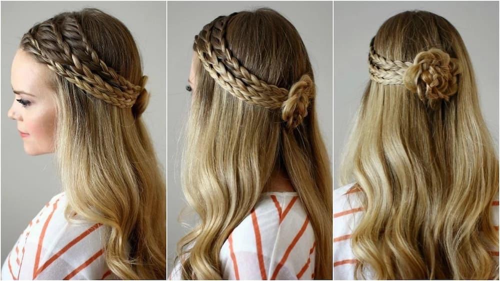 styling braids