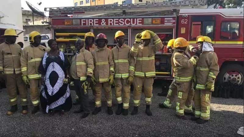 Kisumu governor launches Meru county fire engines in his county and residents are confused