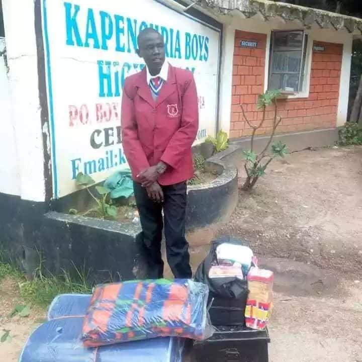 Mwanafunzi wa Kapenguria Boys aliyeaibishwa kwa kukosa karo arejea shuleni