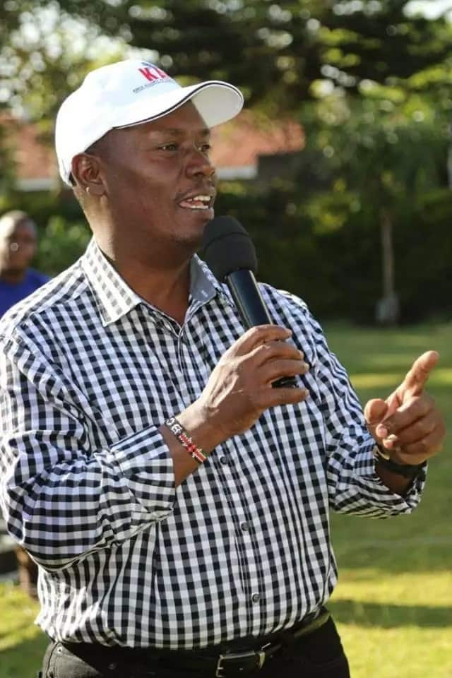 Make me EACC boss, that business of looting will stop before I even get there - Kabogo