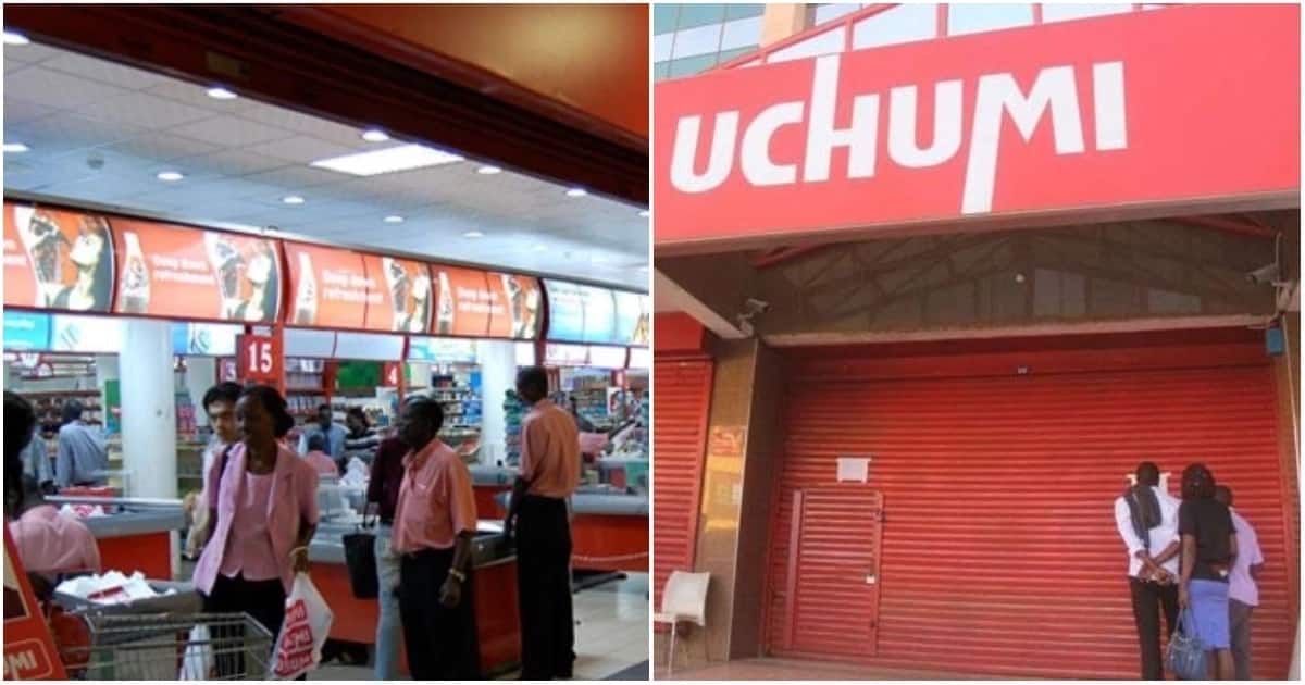 Uchumi supermarket Moi Avenue branch in Mombasa shut down.